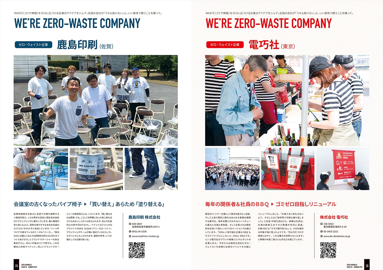 WERE ZERO-WASTE COMPANY